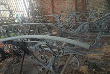 Railling tangga besi tempa klasik moderen