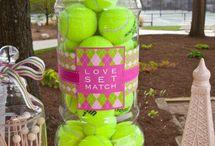 Tennisparty / Leuke tennis ideeën