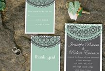 Mint/Grey Wedding!