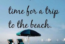 Beach Quotes / Beach Quote: Summer-Inspirational- Funny- Happy-Familly- Travel - Beautiful -Sunset