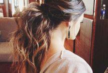 Hosszú hajból frizura
