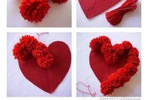 Pom-pom crafts