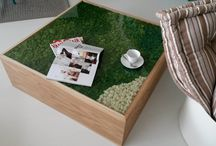 Green Design Furniture / LinfaDecor furniture made with wood, stabilized plants and flowers - for your home, office, restaurant, hotel or shop | LinfaDecor Design