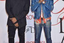 Kanye West in a Noragi