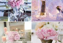Table settings / flower arrangements  / by Emma de Oude