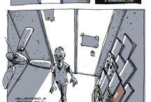 Hobbs Comics / Fumetti, Illustrazione, Scarabocchi, Paranoie.