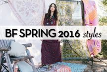 BF Spring 2016 Styles / Care free days & bohemian vibes <3 Our Spring '16 collection brings you tribal prints, textured sandals, heart throbbing booties & much more!  / by Blowfish Shoes