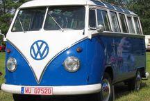 Blue Cars & Motorcycle & Airplanes & Bikes & Caravans