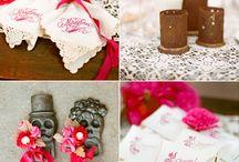 Pink wedding inspiration / by MexWeddings