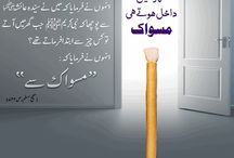 Zia-e-Miswak / Some of very informative Islamic Images about Miswak.