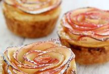 tarte pommes rose