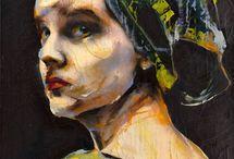 """Lita Cabellut """"the divine"""""""