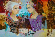 Vera Dickerson / Collage mixed media artist