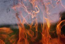 Entre ciel et flamme