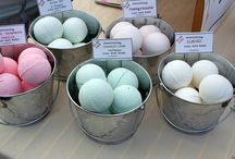 Body bath bombs