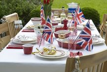 Celebrate | Rule Britannia / Ideas and decorations to help celebrate British Jubilees, Royal Weddings and other Patriotic celebrations. God Save the Queen!