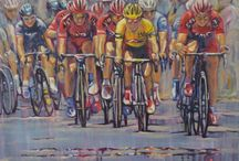 Bike Art / Cycling related art work by Jacky Murtaugh