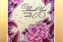 Penny Black stamps and ideas