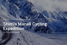Shimla Manali Cycling Expedition / Shimla to Manali cycling tour is one the most thrilling and marvelous biking adventure in India. The route has most picturesque & isolated villages & get to meet the local people. The landscapes & mountains here are spectacular as they pass by beautiful green valleys, high altitude deserts as well as Buddhist monasteries. Come along this winter for the most beautiful trail of Himalayas – Shimla To Manali Cycling Expedition.
