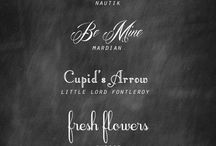 fonts / free fonts including fonts for weddings and invitations / by Sandra Martin