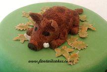 Boar cakes
