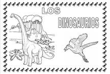 DINOSAURIOS para COLOREAR / Dibujos para niños de dinosaurios