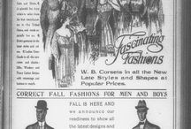 Fashion and Beauty / Selected Stories and Advertisements about Fashion from Florida Newspapers (1836-1922) digitized and available on http://chroniclingamerica.loc.gov/