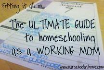WAHM Homeschooling