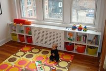 Kitchen play zone