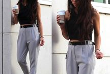 Cigarette trouser outfits