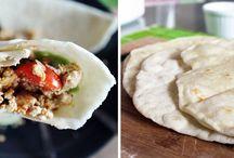 Vegan Recipes: Wraps etc... / Vegan wraps, sandwiches, bricks...