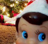 Merry Elfin Christmas! / Elf on the shelf ideas.