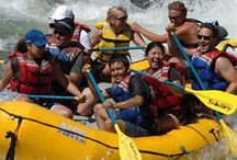 Mt. Shasta: Rafting / The Mt. Shasta area offers a variety of whitewater rafting experiences — from class II family float trips, to multiple day excursions, to heart pumping class IV thrill rides. Reconnect while enjoying the natural beauty along one of our wild and scenic rivers.