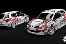 Minařík Racing (Renault Clio R3) / Design and wrap for season 2012.