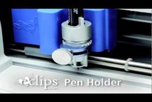 Sizzix Eclips / Shows you pictures and videos on the Sizzix Eclips machine. A very expensive scrapbooking and crafting tool, but very powerful once learned how to use.  / by CutAtHome