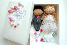 svatební panenky