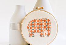 Embroidery & Cross-Stitch / by DLJE