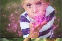 Glitter Blowing shots