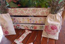 Cajas decoradas con papel
