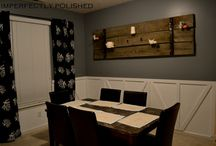 Decorating - Dining Room / by The Road Less Traveled