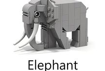 Animals lego