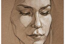 portret kunsten / portretten maken