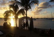Couchers de Soleil - Sunsets / Couchers de soleil au Shambala / Sunsets at Le Shambala