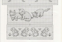 crosstitch animals