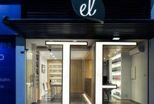 shop space  facade