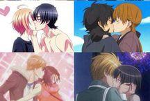 Anime kiss ❤❤