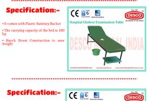 Hospital Cholera Bed / We are one of the leading manufacturers, suppliers and exporters of a wide range of Hospital Bed that is manufactured using high grade raw material sourced from reputed vendors.
