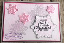 Stampin' Up! - Flurry of wishes / Stampin' up stamp set and card design
