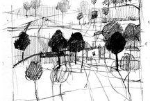 sketch lanscape