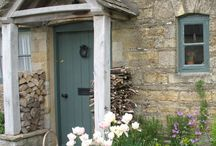 Farmhouse door ideas / We are renovating our farmhouse currently and have to choose a style that fits with our 17th Century listed home. These are some styles I like.
